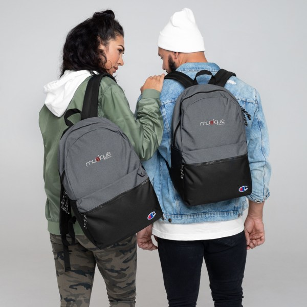champion backpack heather grey black 5ff5eb6ae0fbb