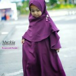 Gamis Set Ruqoyyah Series Purple Size 10