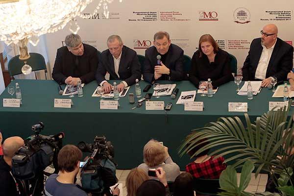 <strong>10 февраля в Большом театре состоялась пресс-конференция международного форума «Мечислав Вайнберг (1919–1996). Возращение»</strong>