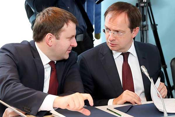 Владимир Путин назначил Владимира Мединского и Максима Орешкина помощниками президента