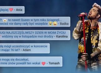 Adam Lambert łączy pokolenia fanów Queen!
