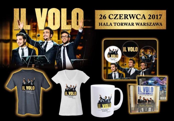 Il Volo: Sprawdź jakie gadżety będzie można kupić przed koncertem!