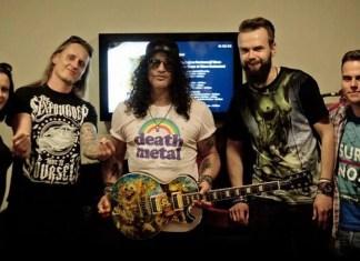 Slash Guns N' Roses i Szymon Chwalisz razem dla Wielkiej Orkiestry Świątecznej Pomocy