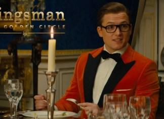 Kingsman: Złoty krąg: Taron Egerton na wykwintnej kolacji (WIDEO)