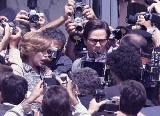 Michelle Williams i Mark Wahlberg osaczeni przez reporterów (ZDJĘCIA)