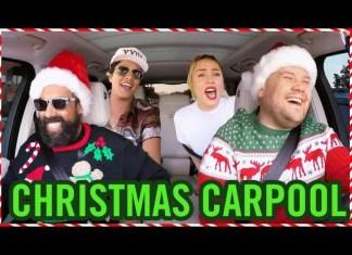 Harry Styles całuje Jamesa Cordena w świątecznym Carpool Karaoke
