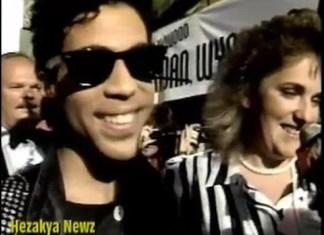 Elizabeth Banks na randce z Prince'em