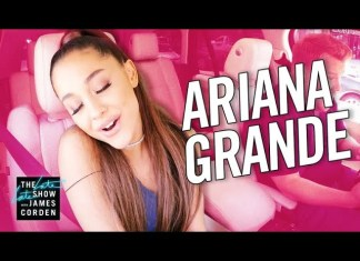 Ariana Grande w Carpool Karaoke! James Corden nosi gwiazdę na barana (WIDEO)