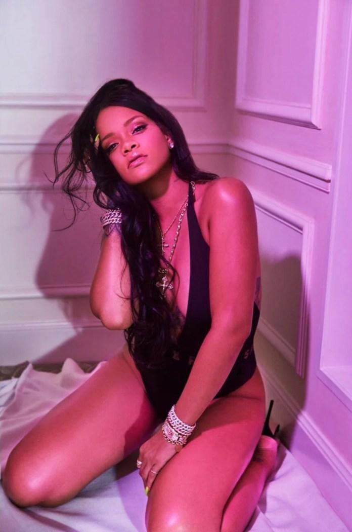 Rihanna w seksownej sesji zdjęciowej!