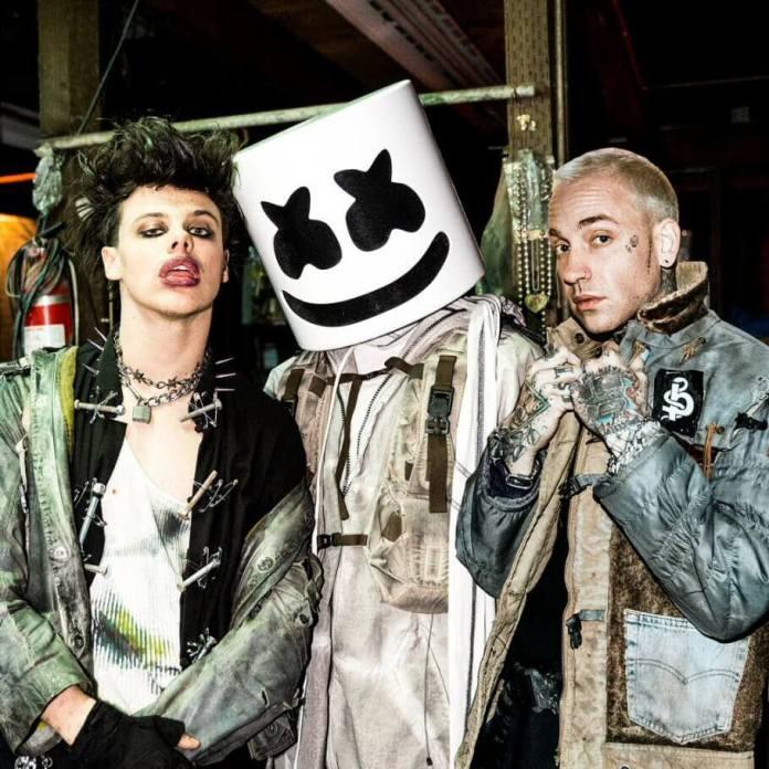 """Marshmello, YUNGBLUD i blackbear – niepowstrzymane trio we wspólnym singlu """"Tongue Tied"""""""