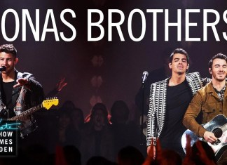 "Jonas Brothers grają ""What A Man Gotta Do"" u Jamesa Cordena"