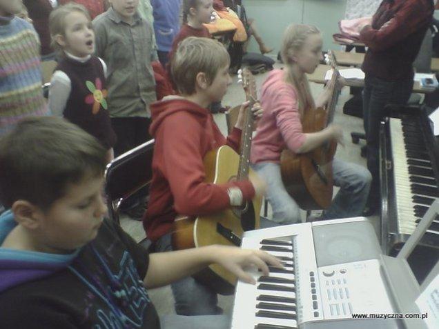 Próba generalna przed koncertem 11 listopada 2007.