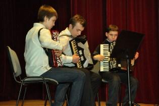 25. Zespół akordeonowy - A. Olejarz, M. Korytko, Sz. Pupka