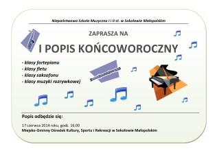 I Popis w Sokołowie Małopolskim