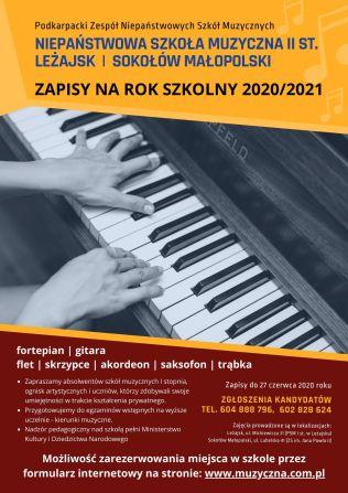 Plakat - II ST. PZNSM 2020