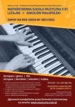 Plakat - II st. PZNSM 2021