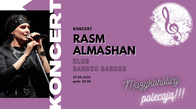 """Rasm Almashan już za tydzień wystąpi w """"Bardzo Bardzo"""" w Warszawie"""