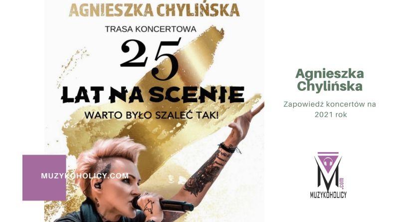 Agnieszka Chylińska zapowiada koncerty