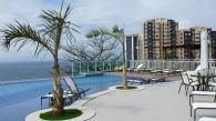Fotos da piscina do Celebration Garibaldi, localizado no bairro da Garibaldi, em Salvador.