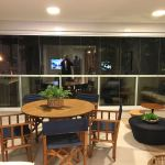 Foto da varanda do apartamento decorado do Pituba Dolce Vita