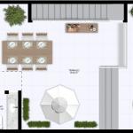Cobertura Pavimento Superior - 98 m² de área privativa