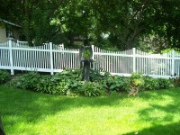 (Photo 23) 2-Rail Scalloped Picket Fence