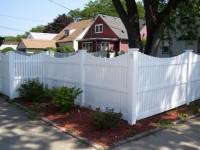 (Photo 9) 3-Rail Scalloped Fence With New England Cap