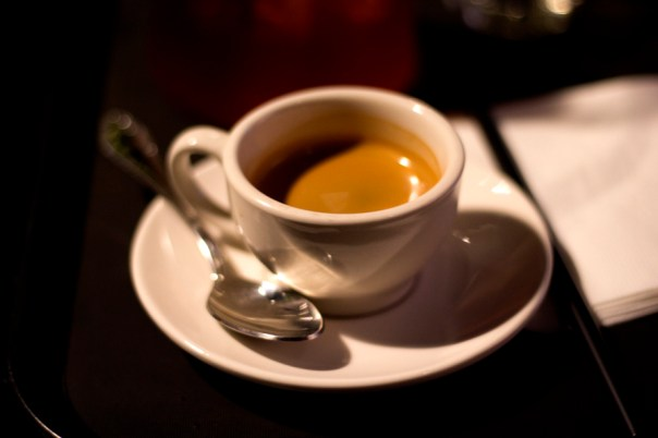 Air and Dream, the lightness of the crema is very similar to that of an 'east coast espresso'