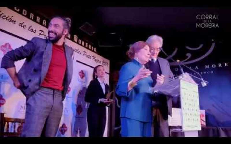 Eduardo Guerrero recibe premio Pata Negra | Corral de la Morería | #SomosEventos