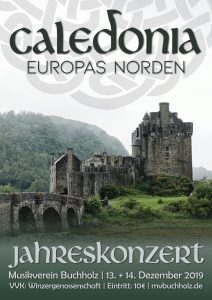 Plakat Caledonia - Europas Norden