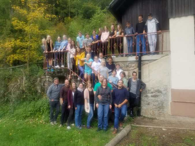 Gruppenfoto Jugendorchester Buchholz 2019
