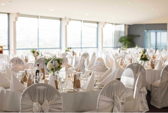 Wedding Reception Theme- Elegant in White