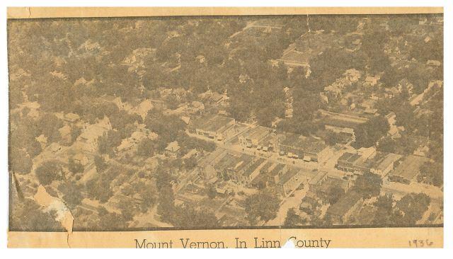 Aerial Photo of Mount Vernon