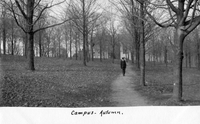 photo of Fall Cornell College Postcard