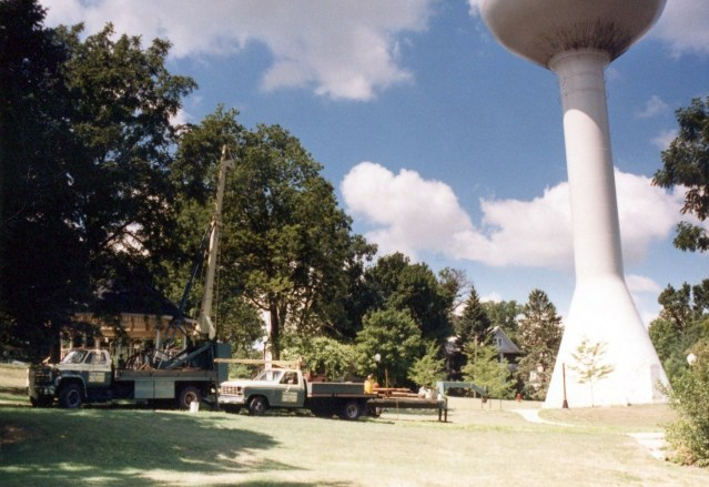 photo of Finishing New City Water Tower