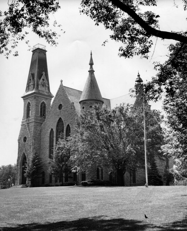 photo of King Chapel-1960