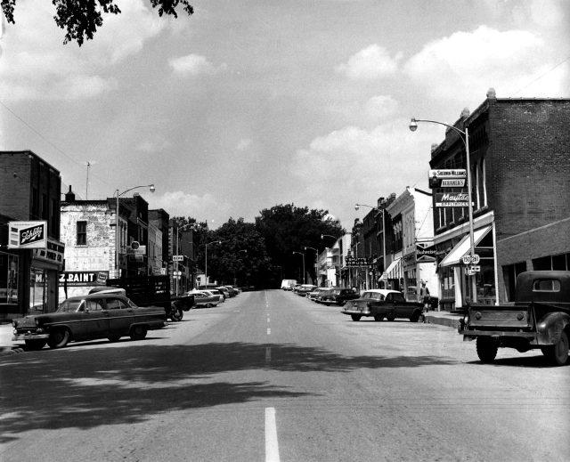 Photo of Main Street @1960