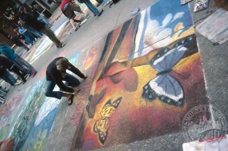 Photo of Chalk the Walk, 2007