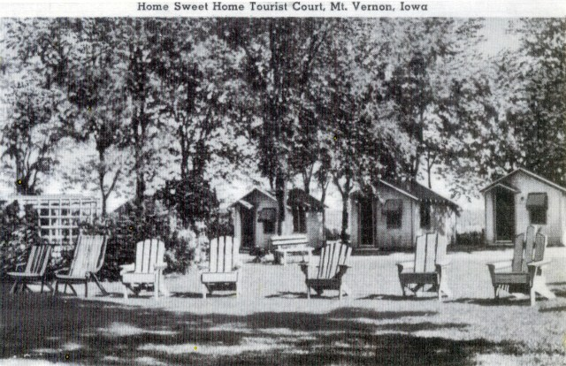 photo of Home Sweet Home Tourist Court-1950
