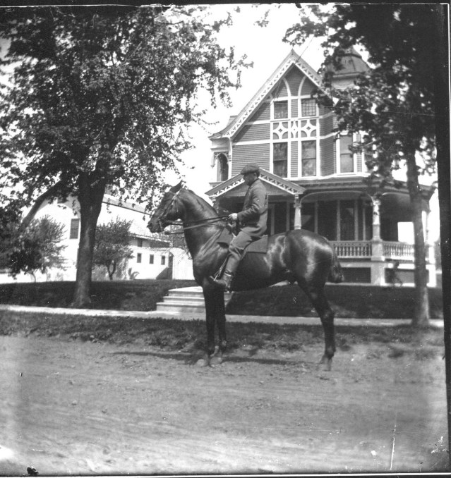 photo of Man Riding Horse