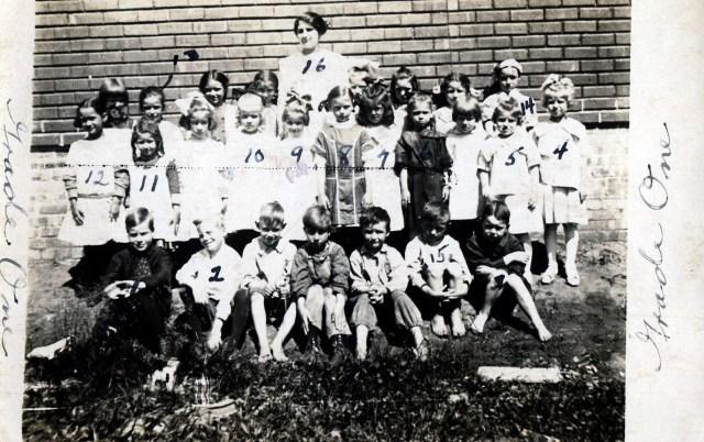 photo of Mount Vernon 1st Grade Class