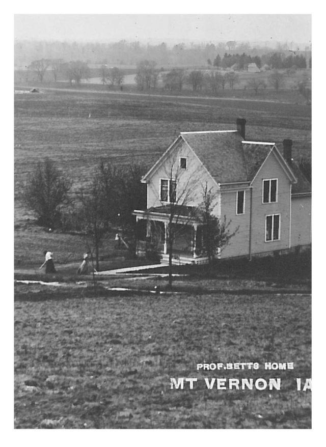 photo of Professor Betts Home