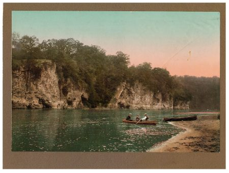 photo of Unidentified Men Rowing on the Cedar River