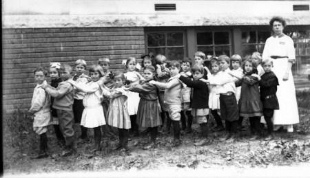 photo of Ward School Students