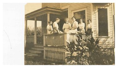 photo of Women on Porch