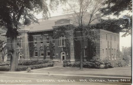 Photo of old Cornell Gymnasium Postcard