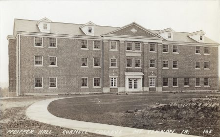 Photo of Pheiffer Hall postcard