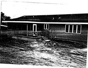 Photo of Covington house with new porch