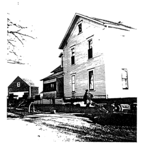 Photo of a house on the covington property