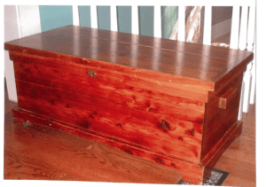 Photo of Yount cedar chest